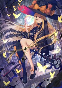 Rating: Safe Score: 25 Tags: abigail_williams_(fate/grand_order) eisuto fate/grand_order heels no_bra pantsu thighhighs witch User: Mr_GT