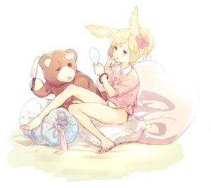 Rating: Safe Score: 35 Tags: animal_ears feet pantsu subachi User: Zenex