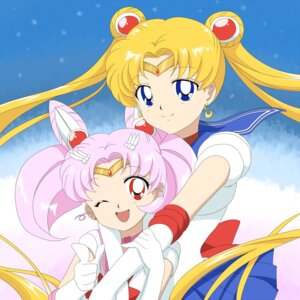 Rating: Safe Score: 17 Tags: chibiusa rumia_(compacthuman) sailor_moon tsukino_usagi User: Riven