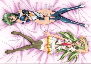 Rating: Questionable Score: 18 Tags: binding_discoloration breast_hold cleavage kabashima_yousuke kannagi_itsuki megane seifuku sora_wo_kakeru_shoujo thighhighs User: yumichi-sama