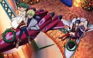 Rating: Safe Score: 11 Tags: brera_sterne macross macross_frontier ranka_lee saotome_alto sheryl_nome User: Radioactive