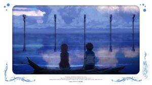 Rating: Safe Score: 8 Tags: mukaido_manaka nagi_no_asukara sakishima_hikari seifuku User: alice4
