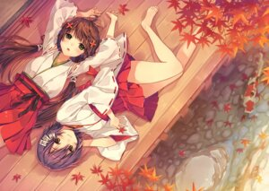 Rating: Safe Score: 50 Tags: feet miko natsu_natsuna User: fairyren
