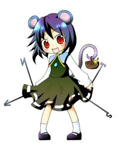 Rating: Safe Score: 4 Tags: nazrin pikachu pokemon touhou User: konstargirl