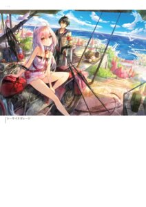 Rating: Questionable Score: 17 Tags: dress fuumi landscape User: Twinsenzw