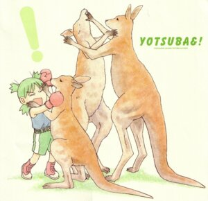 Rating: Safe Score: 11 Tags: azuma_kiyohiko koiwai_yotsuba paper_texture yotsubato! User: Radioactive