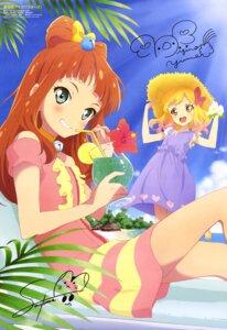 Rating: Safe Score: 19 Tags: aikatsu! aikatsu_stars! autographed dress nijino_yume saotome_ako watanabe_satomi User: drop
