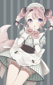 Rating: Safe Score: 18 Tags: bloomers mahou_shoujo_ikusei_keikaku maid tagme tail thiana0225 User: BattlequeenYume