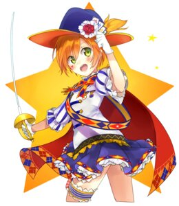 Rating: Safe Score: 26 Tags: garter hoshizora_rin kakizato_shinano love_live! sword User: Mr_GT
