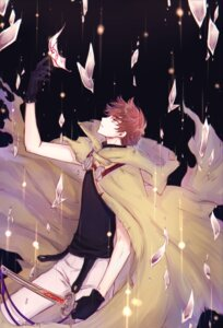 Rating: Safe Score: 11 Tags: coro96 li_syaoran male sword tsubasa_reservoir_chronicle User: charunetra