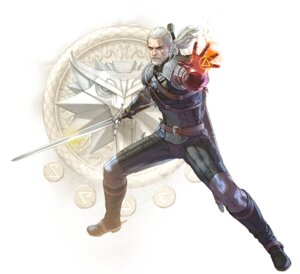 Rating: Safe Score: 13 Tags: armor geralt_of_rivia kawano_takuji male soul_calibur soul_calibur_vi the_witcher_3 weapon User: Yokaiou