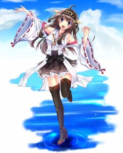 Rating: Safe Score: 30 Tags: fule heels japanese_clothes kantai_collection kongou_(kancolle) thighhighs User: 椎名深夏