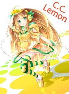 Rating: Safe Score: 19 Tags: c.c._lemon c.c._lemon_(character) thighhighs tyaba_neko User: gulf