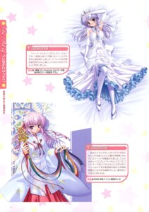 Rating: Safe Score: 20 Tags: august bekkankou dress estel_freesia feena_fam_earthlight miko pantyhose wedding_dress yoake_mae_yori_ruriiro_na User: fireattack