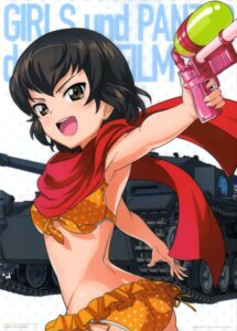 Rating: Safe Score: 12 Tags: ass bikini caesar girls_und_panzer gun swimsuits User: drop
