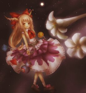 Rating: Safe Score: 5 Tags: amanojaku dress horns ibuki_suika touhou User: KerrigN