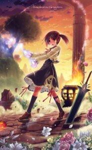 Rating: Safe Score: 45 Tags: dress kankurou seifuku sword User: fairyren