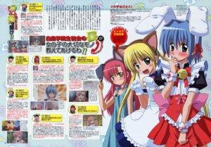 Rating: Safe Score: 6 Tags: animal_ears ayasaki_hayate bunny_ears crossdress hayate_no_gotoku horiuchi_osamu katsura_hinagiku maid nekomimi sanzenin_nagi User: vita