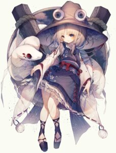 Rating: Safe Score: 22 Tags: hito_komoru moriya_suwako touhou User: Mr_GT