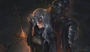 Rating: Questionable Score: 23 Tags: armor dark_souls dark_souls_3 fire_keeper ushas User: lostmemory