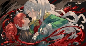 Rating: Safe Score: 11 Tags: blood hk_(artist) strawberry_panic sword uniform yuri User: Dreista