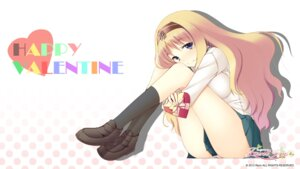 Rating: Questionable Score: 32 Tags: faint_tone fumii pantsu seifuku valentine wallpaper yu-ta User: blooregardo