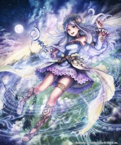 Rating: Safe Score: 50 Tags: anbe_yoshirou deity_wars dress garter weapon User: Mr_GT