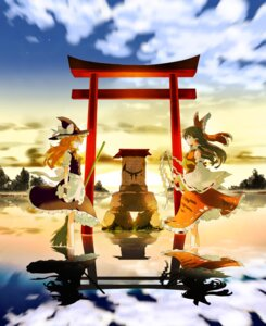 Rating: Safe Score: 23 Tags: hakurei_reimu ichizen kirisame_marisa touhou User: Radioactive