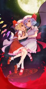 Rating: Safe Score: 33 Tags: flandre_scarlet remilia_scarlet touhou wings wu User: Mr_GT