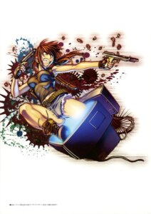 Rating: Safe Score: 16 Tags: black_lagoon gun hiroe_rei revy User: drop
