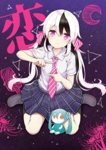 Rating: Questionable Score: 25 Tags: chibi follow_dreams hatsune_miku seifuku vocaloid User: sym455