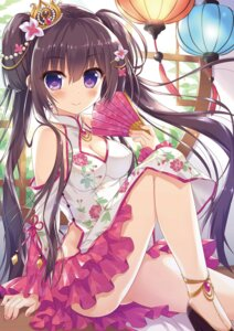 Rating: Questionable Score: 48 Tags: ame_to_yuki chinadress cleavage User: kiyoe