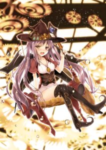 Rating: Safe Score: 47 Tags: dress heels paper8804 thighhighs witch User: KazukiNanako