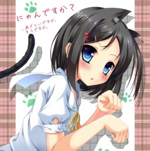 Rating: Safe Score: 53 Tags: animal_ears fujieda_uzuki hentai_ouji_to_warawanai_neko nekomimi tail tsutsukakushi_tsukiko User: 椎名深夏
