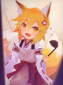 Rating: Safe Score: 22 Tags: animal_ears kitsune miko senko-san sewayaki_kitsune_no_senko-san t6 tail User: Mr_GT