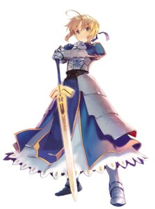 Rating: Safe Score: 44 Tags: armor fate/stay_night saber shirabi sword User: KazukiNanako