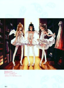 Rating: Questionable Score: 17 Tags: angel dress ema_(shirotsume_souwa) littlewitch loli lolita_fashion oyari_ashito pantsu sayu shirotsume_souwa skirt_lift stockings thighhighs toka_(shirotsume_souwa) wings User: petopeto