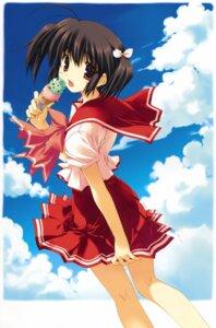 Rating: Safe Score: 16 Tags: mitsumi_misato seifuku to_heart_2 to_heart_(series) yuzuhara_konomi User: Kalafina