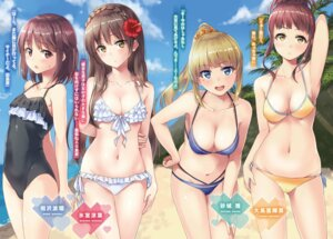 Rating: Questionable Score: 58 Tags: bikini cleavage swimsuits unasaka User: kiyoe
