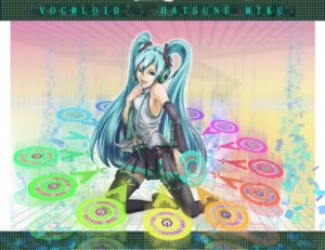 Rating: Safe Score: 7 Tags: hatsune_miku thighhighs tribal-nao vocaloid User: yumichi-sama