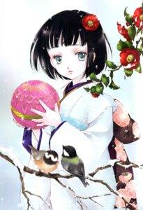 Rating: Safe Score: 7 Tags: kimono minakami_kaori User: Davison