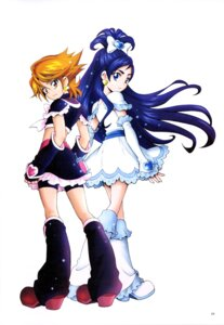 Rating: Safe Score: 10 Tags: bike_shorts dress futari_wa_pretty_cure heels kamikita_futago misumi_nagisa pretty_cure yukishiro_honoka User: drop