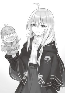 Rating: Safe Score: 6 Tags: azure0608 majo_no_tabitabi monochrome uniform User: kiyoe