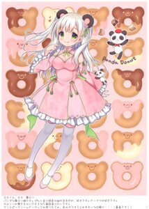 Rating: Safe Score: 25 Tags: animal_ears asian_clothes chocolate_cube cleavage miwa_futaba thighhighs User: kiyoe