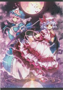 Rating: Safe Score: 12 Tags: capura.l eternal_phantasia remilia_scarlet saigyouji_yuyuko touhou User: 乐舞纤尘醉华音