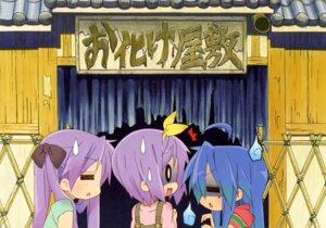 Rating: Safe Score: 13 Tags: hiiragi_kagami hiiragi_tsukasa izumi_konata lucky_star User: Radioactive