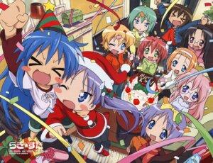Rating: Safe Score: 17 Tags: christmas hiiragi_kagami hiiragi_tsukasa iwasaki_minami izumi_konata kobayakawa_yutaka kusakabe_misao lucky_star minegishi_ayano patricia_martin takara_miyuki takemoto_yasuhiro tamura_hiyori User: vita