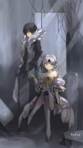 Rating: Safe Score: 28 Tags: elsword eve_(elsword) raven_(elsword) swd3e2 User: fairyren