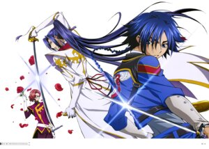Rating: Safe Score: 4 Tags: akito_the_exiled code_geass hyuuga_akito jean_rowe shin_hyuuga_shaingu sword User: drop