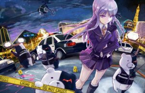 Rating: Questionable Score: 27 Tags: dangan-ronpa kirigiri_kyouko monokuma sandro User: sinonhecate